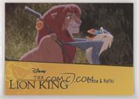 SP - Simba & Rafiki #/94