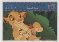 Simba & Timon #/99