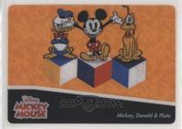 Mickey & Donald & Pluto
