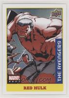 Low Series Stickers - Red Hulk