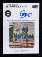 Jim Steranko - Writer and Penciller, Captain America #110 #9/10