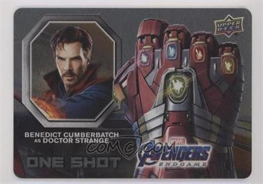 2020 Upper Deck Marvel Avengers Endgame & Captain Marvel - One Shot #OS-12 - Benedict Cumberbatch