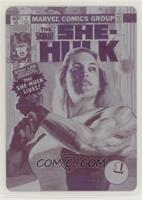 Level 1 - She-Hulk #/1