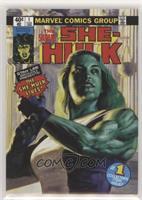 Level 1 - She-Hulk #/1,499
