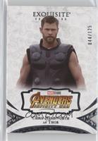 Chris Hemsworth, Thor #/125