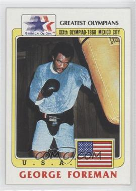 1983 History's Greatest Olympians - [Base] #19 - George Foreman