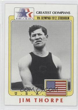 1983 History's Greatest Olympians - [Base] #37 - Jim Thorpe