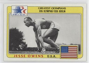1983 History's Greatest Olympians - [Base] #49 - Jesse Owens