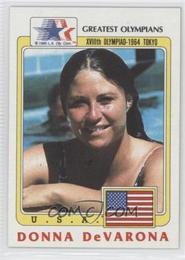 1983 History's Greatest Olympians - [Base] #71 - Donna DeVarona
