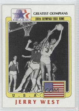 1983 History's Greatest Olympians - [Base] #91 - Jerry West