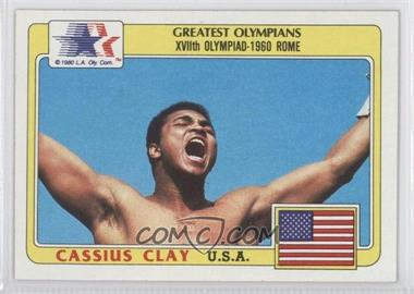 1983 History's Greatest Olympians - [Base] #92 - Cassius Clay