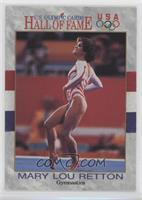 Mary Lou Retton (long hair on back/black and white)