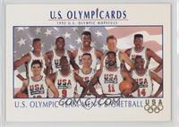 U.S. Olympic Team-Men's Basketball (Scottie Pippen, Magic Johnson, David Robins…