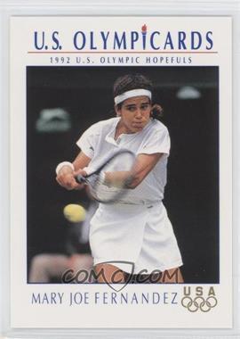 1992 Impel U.S. Olympicards - [Base] #83 - Mary Joe Fernandez