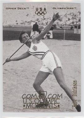 1996 Upper Deck Olympicard - [Base] #29 - Babe Didrikson