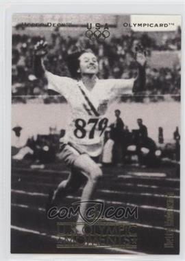 1996 Upper Deck Olympicard - [Base] #33 - Betty Robinson