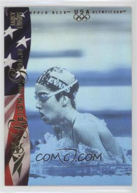 1996 Upper Deck Olympicard - Reign of Gold #RN3 - Janet Evans