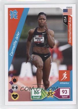 2010 Panini Adrenalyn XL 2012 Summer Olympics - [Base] #262 - Carmelita Jeter