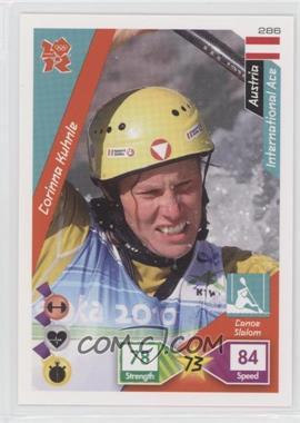 2010 Panini Adrenalyn XL 2012 Summer Olympics - [Base] #286 - Corinna Kuhnle