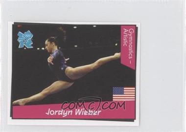 2010 Panini London 2012 Album Stickers - [Base] #276 - Jordyn Wieber