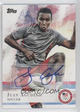 2012 Topps U.S. Olympic Team and Olympic Hopefuls - [Base] - Autographs [Autographed] #3 - Juan Agudelo