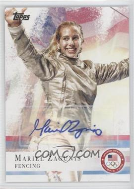2012 Topps U.S. Olympic Team and Olympic Hopefuls - [Base] - Autographs [Autographed] #32 - Mariel Zagunis