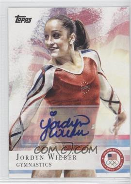 2012 Topps U.S. Olympic Team and Olympic Hopefuls - [Base] - Autographs [Autographed] #78 - Jordyn Wieber
