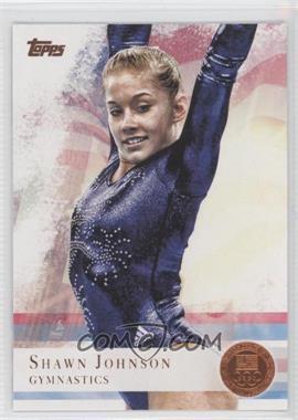 2012 Topps U.S. Olympic Team and Olympic Hopefuls - [Base] - Bronze #1 - Shawn Johnson