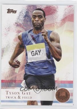 2012 Topps U.S. Olympic Team and Olympic Hopefuls - [Base] - Bronze #10 - Tyson Gay