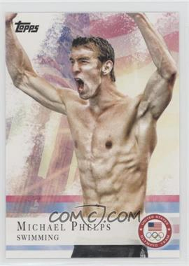 2012 Topps U.S. Olympic Team and Olympic Hopefuls - [Base] - Bronze #100 - Michael Phelps