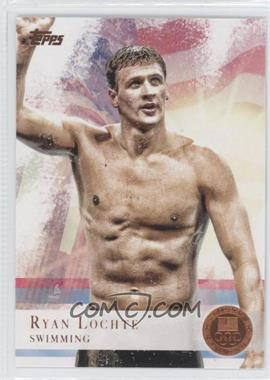 2012 Topps U.S. Olympic Team and Olympic Hopefuls - [Base] - Bronze #17 - Ryan Lochte