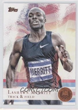 2012 Topps U.S. Olympic Team and Olympic Hopefuls - [Base] - Bronze #22 - LaShawn Merritt