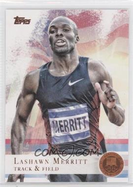 2012 Topps U.S. Olympic Team and Olympic Hopefuls - [Base] - Bronze #22 - LaShawn Merritt
