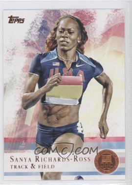 2012 Topps U.S. Olympic Team and Olympic Hopefuls - [Base] - Bronze #30 - Sanya Richards-Ross