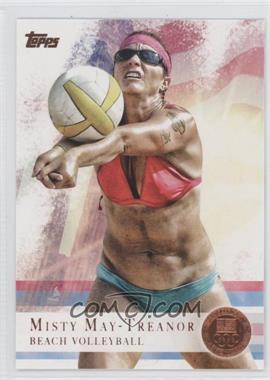 2012 Topps U.S. Olympic Team and Olympic Hopefuls - [Base] - Bronze #40 - Misty May-Treanor