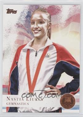 2012 Topps U.S. Olympic Team and Olympic Hopefuls - [Base] - Bronze #43 - Nastia Liukin