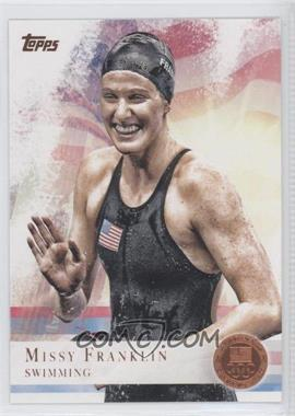 2012 Topps U.S. Olympic Team and Olympic Hopefuls - [Base] - Bronze #59 - Missy Franklin