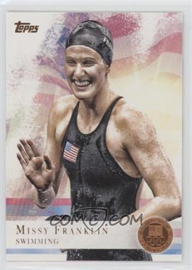 2012 Topps U.S. Olympic Team and Olympic Hopefuls - [Base] - Bronze #59 - Missy Franklin