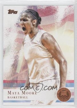2012 Topps U.S. Olympic Team and Olympic Hopefuls - [Base] - Bronze #60 - Maya Moore