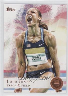2012 Topps U.S. Olympic Team and Olympic Hopefuls - [Base] - Bronze #70 - Lolo Jones