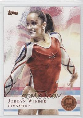 2012 Topps U.S. Olympic Team and Olympic Hopefuls - [Base] - Bronze #78 - Jordyn Wieber