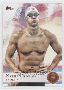 2012 Topps U.S. Olympic Team and Olympic Hopefuls - [Base] - Bronze #87 - Nathan Adrian