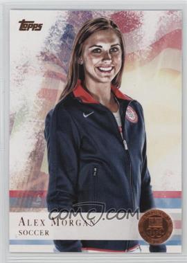 2012 Topps U.S. Olympic Team and Olympic Hopefuls - [Base] - Bronze #90 - Alex Morgan