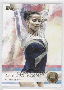 2012 Topps U.S. Olympic Team and Olympic Hopefuls - [Base] - Gold #11 - Alicia Sacramone