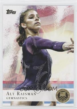 2012 Topps U.S. Olympic Team and Olympic Hopefuls - [Base] - Gold #15 - Aly Raisman
