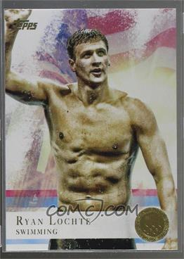 2012 Topps U.S. Olympic Team and Olympic Hopefuls - [Base] - Gold #17 - Ryan Lochte