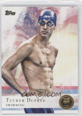 2012 Topps U.S. Olympic Team and Olympic Hopefuls - [Base] - Gold #36 - Tucker Dupree