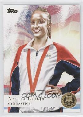2012 Topps U.S. Olympic Team and Olympic Hopefuls - [Base] - Gold #43 - Nastia Liukin