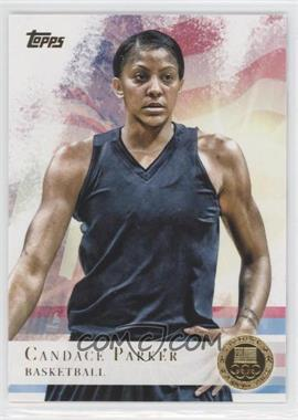 2012 Topps U.S. Olympic Team and Olympic Hopefuls - [Base] - Gold #46 - Candace Parker
