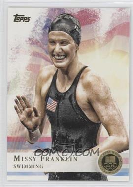 2012 Topps U.S. Olympic Team and Olympic Hopefuls - [Base] - Gold #59 - Missy Franklin